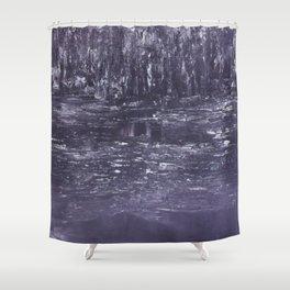 Enchanted (Grey) Shower Curtain