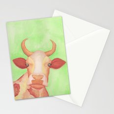 Curious Cow Stationery Cards