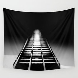 Bass Tracks Wall Tapestry