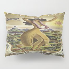 Vintage poster - Hawaii Pillow Sham