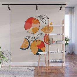 Juicy Citrus Wall Mural