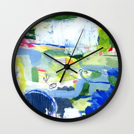 MUSICAL CONFUSION #2 Wall Clock