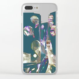 Synaesthesia Clear iPhone Case