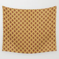 70s Wall Tapestries featuring 70s Pattern by Ryan Winters