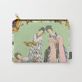 Imari Panel Carry-All Pouch