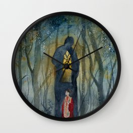 L'Angelús No.02/Evensong in the Oakwood Wall Clock