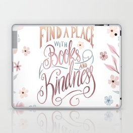 FIND A PLACE Laptop & iPad Skin