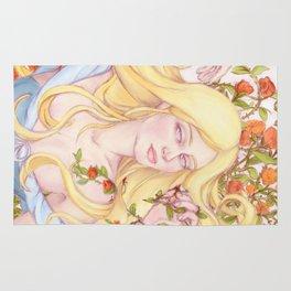sleeping beauty awakens Rug