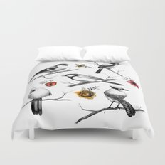 BIRDS & FLOWERS Duvet Cover