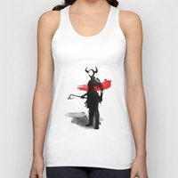 viking Tank Tops featuring Viking by TwO Owls