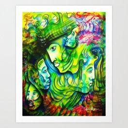 """Family Serenity"" Art Print"