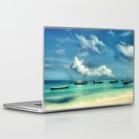 hakuna Laptop & iPad Skins featuring Hakuna Matata by Anna Andretta