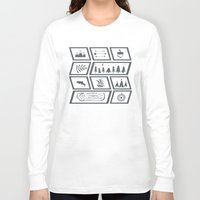 camping Long Sleeve T-shirts featuring Camping by Corina Rivera Designs