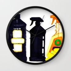 Spray n' Wash Wall Clock