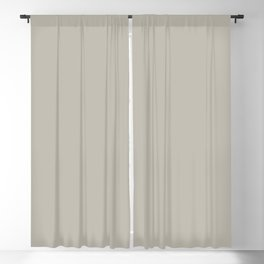 Best Seller Dark Gray Taupe Solid Color Inspired by Benjamin Moore Thunder Gray AF-685 Blackout Curtain