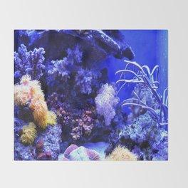 Sea creatures Throw Blanket