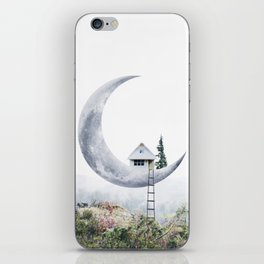 Moon House iPhone Skin