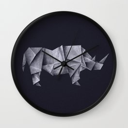 Rhinogami Wall Clock