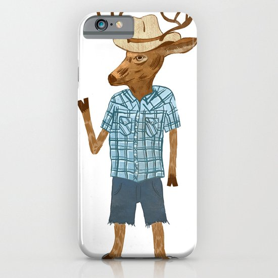 Country deer iPhone & iPod Case