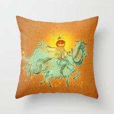 Pumpkin King Throw Pillow