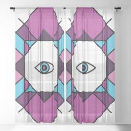 (Vapor) Fourth Eye - Wisdom Eye Sheer Curtain