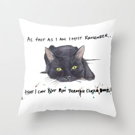 Ooops!! Throw Pillow