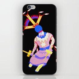 Arizona Apache Devil Dancer - Native American iPhone Skin