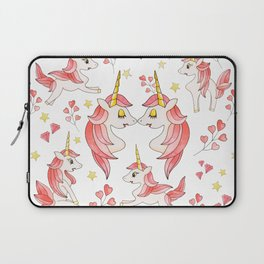 Pink Erotic Unicorn Laptop Sleeve