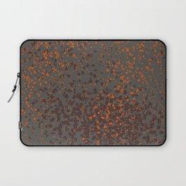 Halloween Splatter Pattern Laptop Sleeve