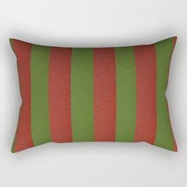 Classic Chrstmas Stripe Rectangular Pillow