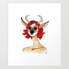 The Masquerade:  The Doe Art Print