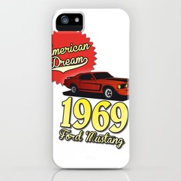 Ford Mustang 1969 iPhone Case