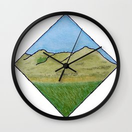 Hills of Scotland Wall Clock