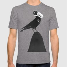 The Lookout Mens Fitted Tee Tri-Grey MEDIUM