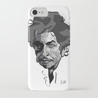 bob dylan iPhone & iPod Cases featuring BOB DYLAN! by nachodraws