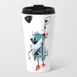 Escher's sun Travel Mug