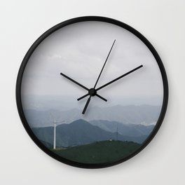 Nostalgia-Home Blue Wall Clock