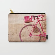 Lady in Pink Carry-All Pouch