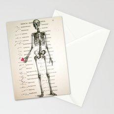 Skeleton In Love Stationery Cards