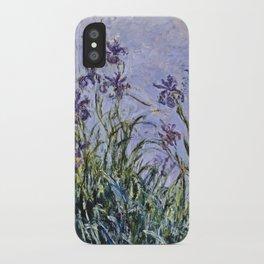 Claude Monet - Iris Jaune iPhone Case