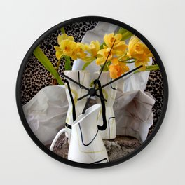 Animal, Vegetable, And Mineral Wall Clock
