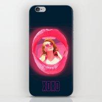 gossip girl iPhone & iPod Skins featuring Gossip Girl Poster by JohnMerritt