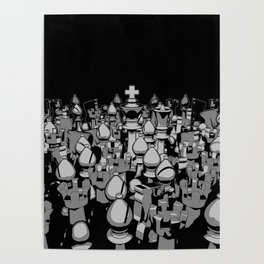 The Chess Crowd Poster