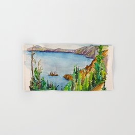 Crater Lake National Park Hand & Bath Towel