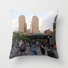 Union Square Action Throw Pillow