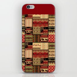 African motifs . Patchwork iPhone Skin