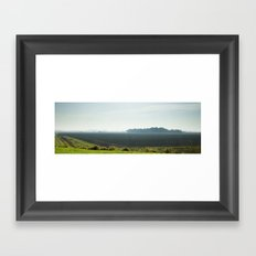 Autumn morning Framed Art Print