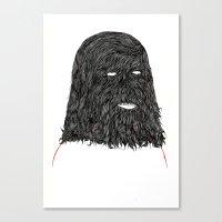 tim shumate Canvas Prints featuring Tim by David Penela