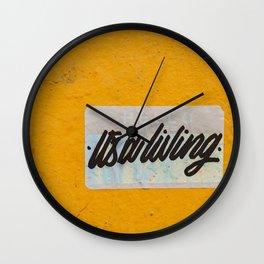 It's a Living Wall Clock