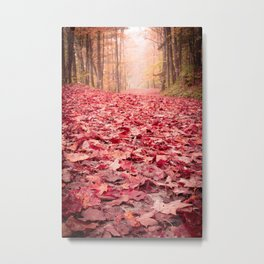 Nature's Red Carpet Metal Print